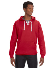 Red Lace Hoodie