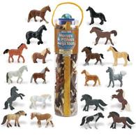 Safari Horses & Ponies Mega Toob