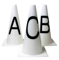 Roma Dressage Cones - Set of 8