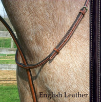 Bobby's Signature Plain Raised Standing Martingale