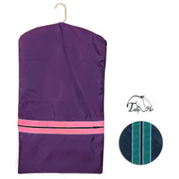 Tally Ho Garment Bag With Piping