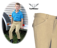 Boys Patrol Light Front Zip Breeches