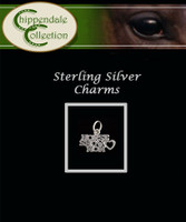 Sterling Silver Charm - Horse Show Mom