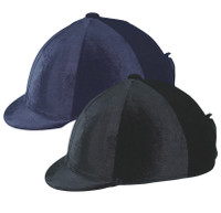 Ovation Zocks Velvet Helmet Cover, Black or Navy