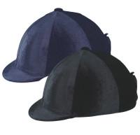 Ovation Zocks Velvet Helmet Cover, Black or Navy