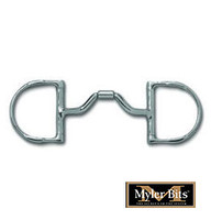 Myler Ported Barrel Dee With Hooks, Level 3,  4.5''