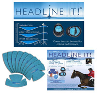 Headline It! Disposable Helmet Liners
