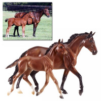 Breyer GG Valentine and Heartbreaker