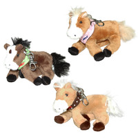 Horse Friends Plush Horse Keychain