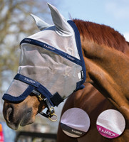 Rambo Plus Fly Mask, Small Pony, Pony & Cob Sizes