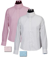 Equine Couture Lyn Coolmax Snap Collar Shirt, Sizes 6 - 14