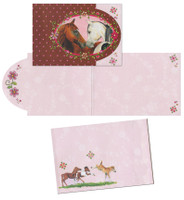 Horse Friends Party Invitations, Pack of 8