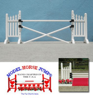 Fence Jump from Model Horse Jumps