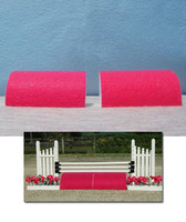 Hot Pink Roll Top for Model Horse Jumps