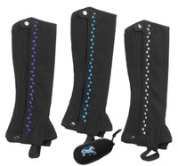 Ovation Stars Half Chaps & FREE Gift, Sizes B & C Only