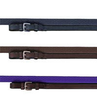 Nunn Finer Soft Grip Rubber Reins, Pony