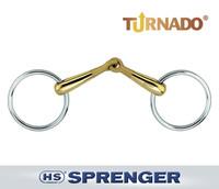 """Herm Sprenger Turnado Loose Ring Snaffle, 16mm, 4.25"""" & 4.5"""""""