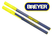 Breyer Pen, Yellow and Blue Design (Black Ink)