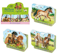 Horse Friends Mini 40-Piece Puzzles