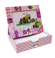 Thelwell Photo Frame and Notes Box