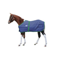 "28""-42"" Weatherbeeta Foal Stable Blanket, Navy with Hunter Trim"