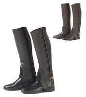 Ovation Equistretch II Half Chaps, Childs, Black & Brown