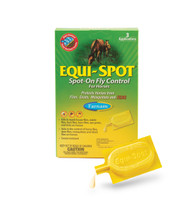 Equi-Spot Spot-On Fly Control for Horses, Three 10 ml Applications