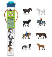 Safari Horses and Riders Toob