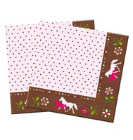 Horse Friends Napkins, Pack of 20
