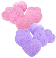 Heart Shaped Tack Sponge, Pack of Six