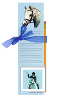 Memo Pad Gift Set with Grey Welsh Pony, Janet Griffin-Scott
