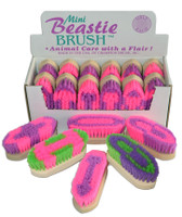 Mini Beastie Brush, Hot Colors