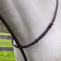 Americana Raised, Fancy Stitched Standing Martingale, 3 Sizes
