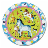Pony Pals Party Plates, Pack of 8