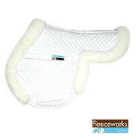 Fleeceworks Therawool Pony Saddle Pad