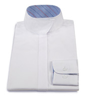 RJ Classics Children's Snap Collar Shirt , White, Size 16 Only