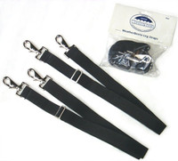 Weatherbeeta Elastic Leg Straps With Two Push Snaps