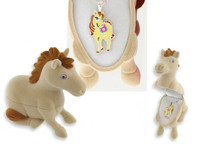 Ivory Pony Pendant with Pony Gift Box