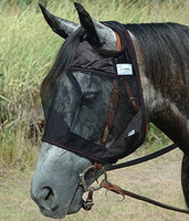 Cashel Quiet Ride Fly Mask without Ears - 3 Sizes