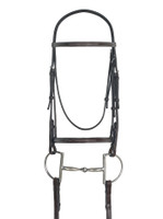 Ovation Raised Fancy Stitched Bridle, Pony & Cob