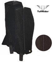 TuffRider AirFlow Synthetic Childs Half Chaps