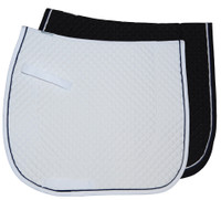 Wilkers Pony Dressage Pad With Piping