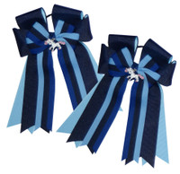 Belle & Bow Show Bows, Adorablue