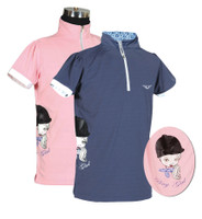 TuffRider Children's Pony Girl Short Sleeve Polo Shirt