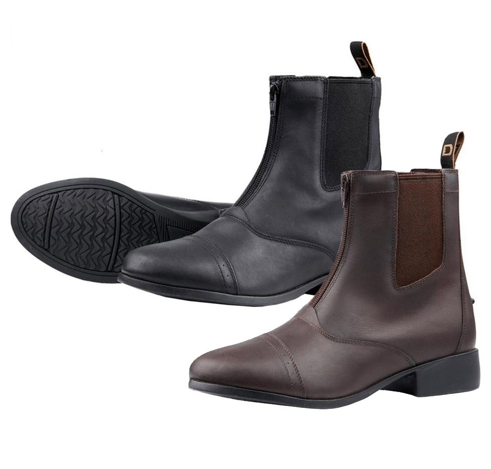 f58cd6326ea Dublin Elevation Kids Leather Zip Paddock Boots, Sizes 10 - 5