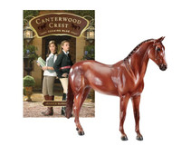 Canterwood Crest's Book 2 'Chasing Blue' with Breyer Model Aristocrat