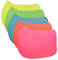 TuffRider Basic Pony Saddle Pad, Neon Colors