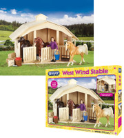 Breyer Classics West Wind Stable