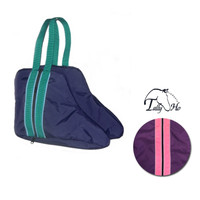 Tally Ho Fleece Lined Paddock Boot Bags With Piping