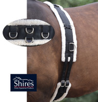 Shires Fleece-Lined Training Surcingle, Pony & Cob